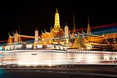 storslagen slott thailand Arkivbilder