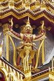 storslagen slott thailand för garuda Fotografering för Bildbyråer