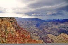 storslagen storm för kanjon Royaltyfri Bild