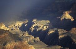 storslagen storm för kanjon Fotografering för Bildbyråer