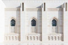 storslagen sultan för moskémuscatqaboos Royaltyfri Foto