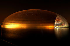 storslagen teater Royaltyfri Foto