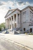 Storslagen teater i Poznan Arkivfoton
