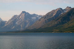 Storslagen Teton nationalpark Royaltyfria Bilder