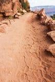 storslagen trail för kanjon Arkivbilder