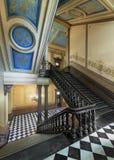 Storslagen trappuppgång för Michigan Kapitolium arkivfoto