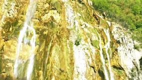 Storslagen vattenfall lager videofilmer