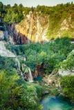 Storslagen vattenfall Royaltyfria Foton