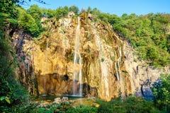 Storslagen vattenfall Royaltyfri Bild