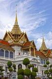 Storslagen verklig slott, Bangkok thailand Arkivfoton