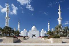 storslagen zayed moskésheikh Royaltyfri Bild