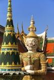 storslaget förmyndareslotttempel thailand Royaltyfri Foto
