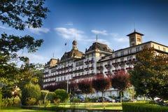 Storslaget hotell fotografering för bildbyråer