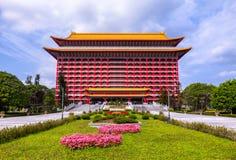 Storslaget hotell i Taipei, Taiwan Fotografering för Bildbyråer