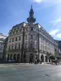 Storslaget hotell kontinentala Bucharest Fotografering för Bildbyråer