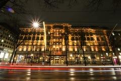 Storslaget hotell Wien Arkivbilder