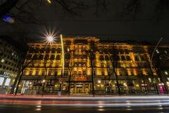 Storslaget hotell Wien Arkivfoto