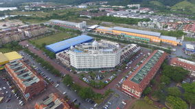 Storslaget Kampar hotell royaltyfri fotografi