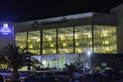 Storslaget Teguise Playa hotell Royaltyfri Foto