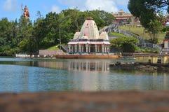 Storslagna Bassin - Ganga Talao - Mauritius Royaltyfri Bild