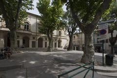 Storslagna Marché Provençal i Helgon-Rémy-de-Provence, Frankrike Arkivfoto