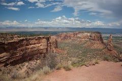 Storslagna Mesa Colorado Arkivfoton