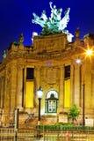 Storslagna Palais (storslagen slott) i Paris, Frankrike. Royaltyfri Fotografi