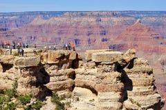 storslagna panorama- s sikter för kanjon Arkivbild
