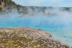 Storslagna prismatiska vårar Yellowstone nationalpark, Wyoming Royaltyfri Bild