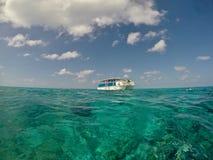 Storslagna Turk Snorkeling Excursion Arkivfoto