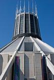 Storstads- domkyrka, Liverpool, UK Fotografering för Bildbyråer