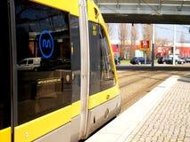 Storstads- gångtunnelchaufförkabin Arkivbilder