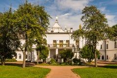 Storstads- hus på helgonet Sophia Cathedral i Kiev, Ukraina, 1 Arkivfoton