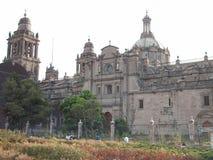 Storstads- katolsk domkyrka, Mexico Royaltyfria Bilder