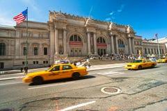 Storstads- konstmuseum i New York Royaltyfria Foton