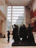Storstads- konstmuseum, New York arkivbilder