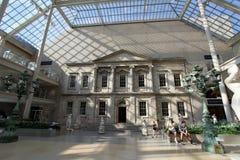Storstads- konstmuseum NYC Arkivbilder