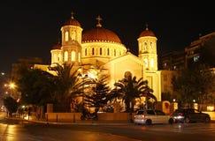 Storstads- kyrka av St Gregory Palamas i Thessaloniki Royaltyfria Foton