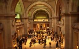 storstads- museumnyc arkivbild