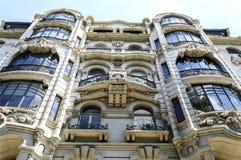 Storstilad arkitektur i Lissabon arkivfoton