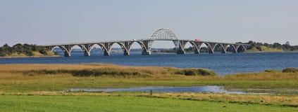 Storstroem bridge, Denmark. Stock Photography