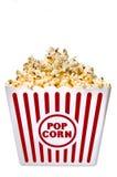 Stort bada av läckert Buttery popcorn Arkivbild