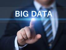 Stort begrepp för information om affär för informationsteknik om datainternet Arkivbilder