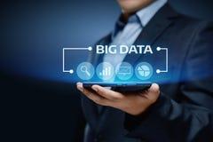 Stort begrepp för information om affär för informationsteknik om datainternet Royaltyfria Bilder