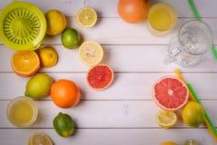 Stort belopp av frukter Arkivbild