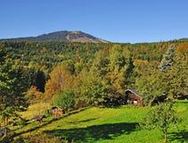 stort berg för arberbavarianskog Royaltyfria Bilder