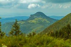Stort berglandskap Royaltyfri Bild