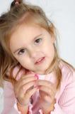 stort brunt öga s Royaltyfria Bilder