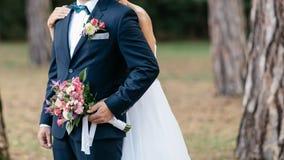 stort bukettbröllop Royaltyfri Fotografi