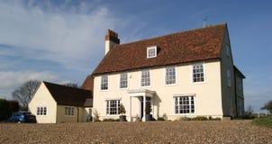 stort engelskt hus Royaltyfria Bilder